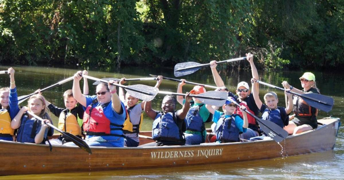 Trail Creek Watershed Partnership hosts 3rd Annual Creekness Stakes canoe race