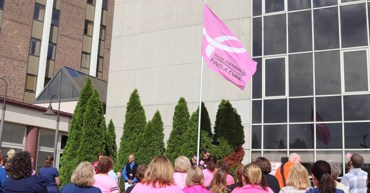 Blow Away Breast Cancer at La Porte Hospital
