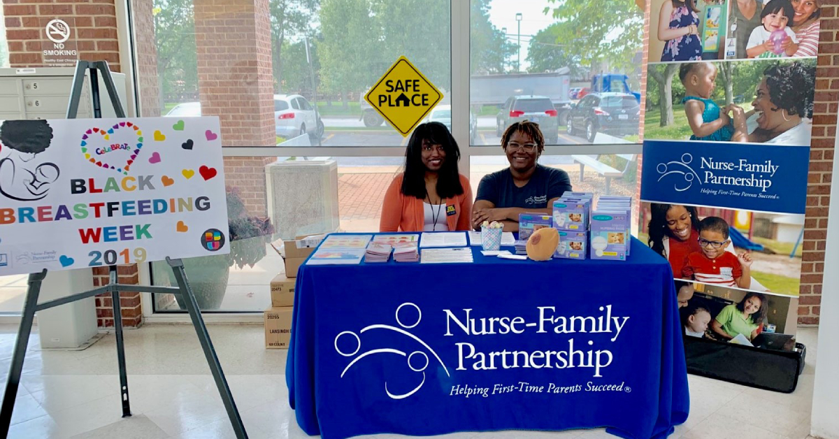 Goodwill Nurse-Family Partnership Lake County Celebrates Black Breastfeeding Week 2019