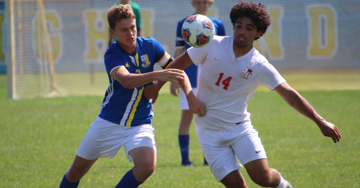 Crown Point Bulldogs Soccer Takes Down The Highland Trojans 5 – 0