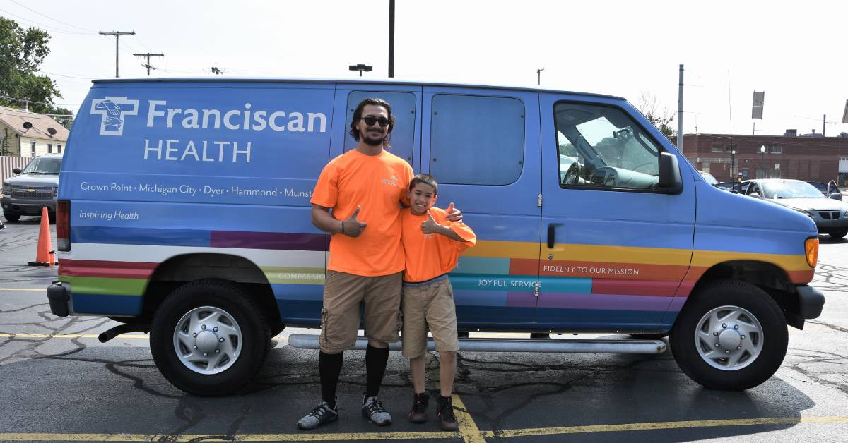 ArcelorMittal Partners with Franciscan Health to Promote Child Car Seat Safety Clinic