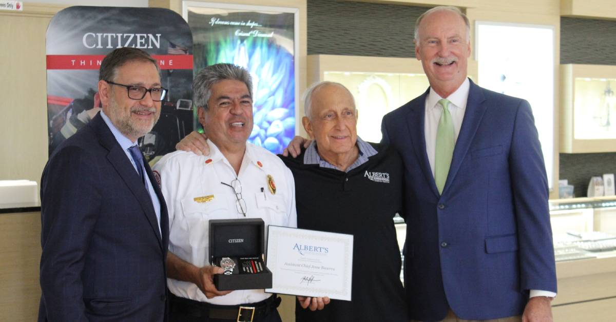 Albert's Diamond Jeweler's honors local heroes at Annual Hometown Hero Awards