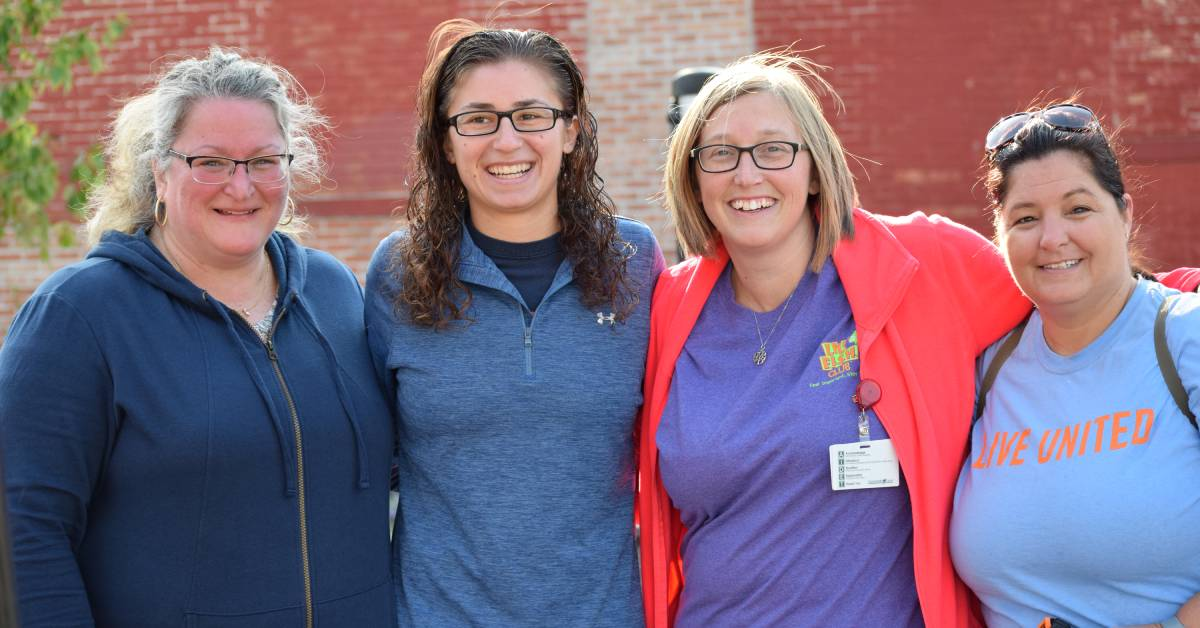 Downtown La Porte gets community treatment with help of La Porte County Family YMCA and LEAP
