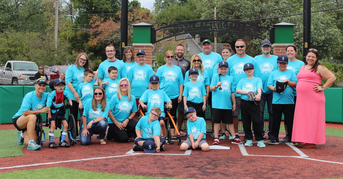 Valpo Parks and Hannah's Hope host Challenger Baseball League at Samardzija Field