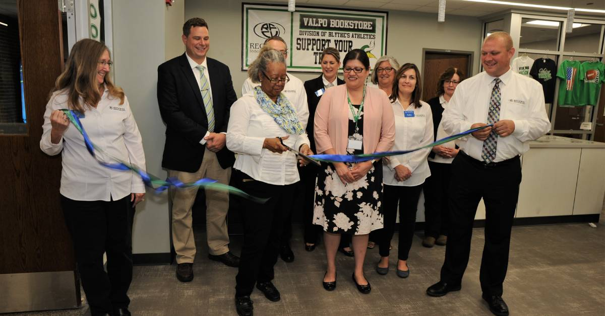 REGIONAL federal credit union opens student branch at Valparaiso High School