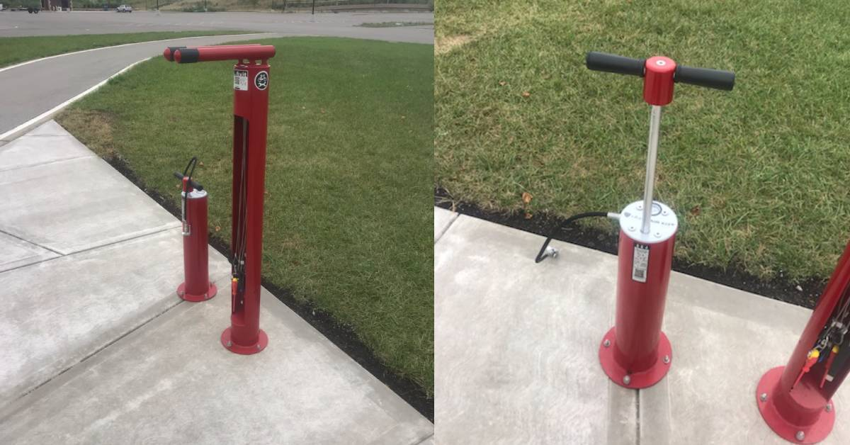 Hammond Offers First Bicycle Repair Station