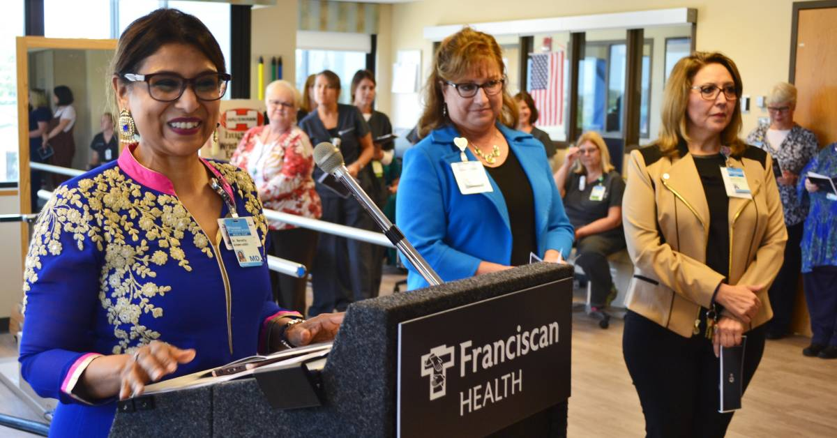 Franciscan Health Dyer Inpatient Rehabilitation Services celebrates expansion and renovation