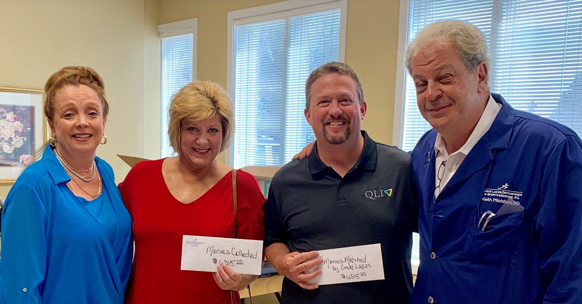 Great Lakes Orthopedics & Sports Medicine rallies community to support family