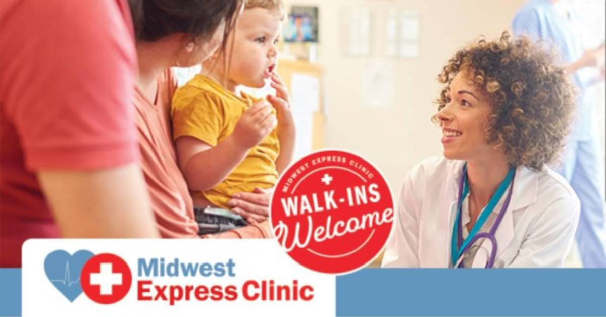 Midwest Express Clinics offer immediate care for occupational, advanced injuries
