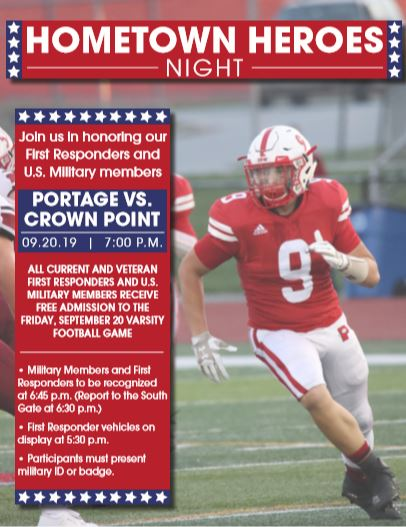Portage High School and the Army National Guard to host Hometown Heroes Night