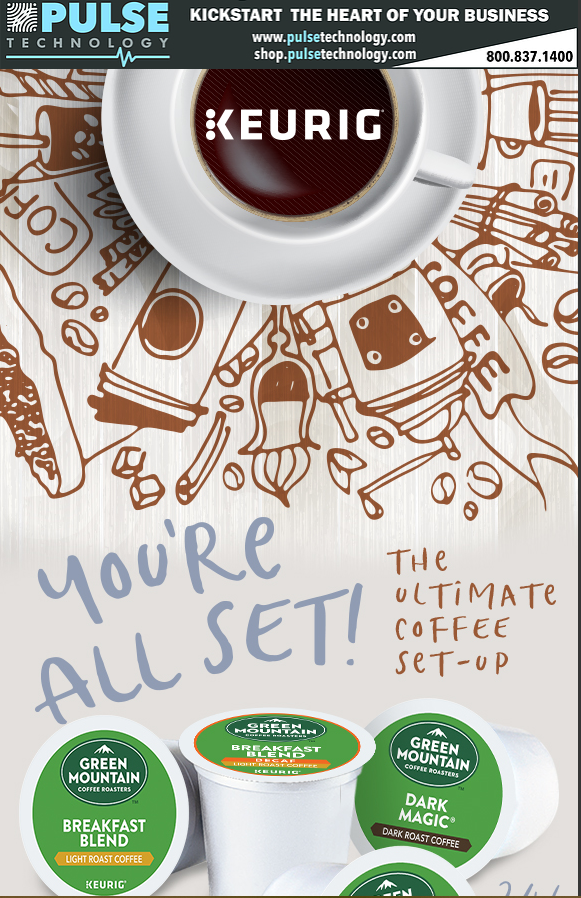 Pulse Technology, Kickstart the Heart of Your Business: The Utimate Coffee Set-up
