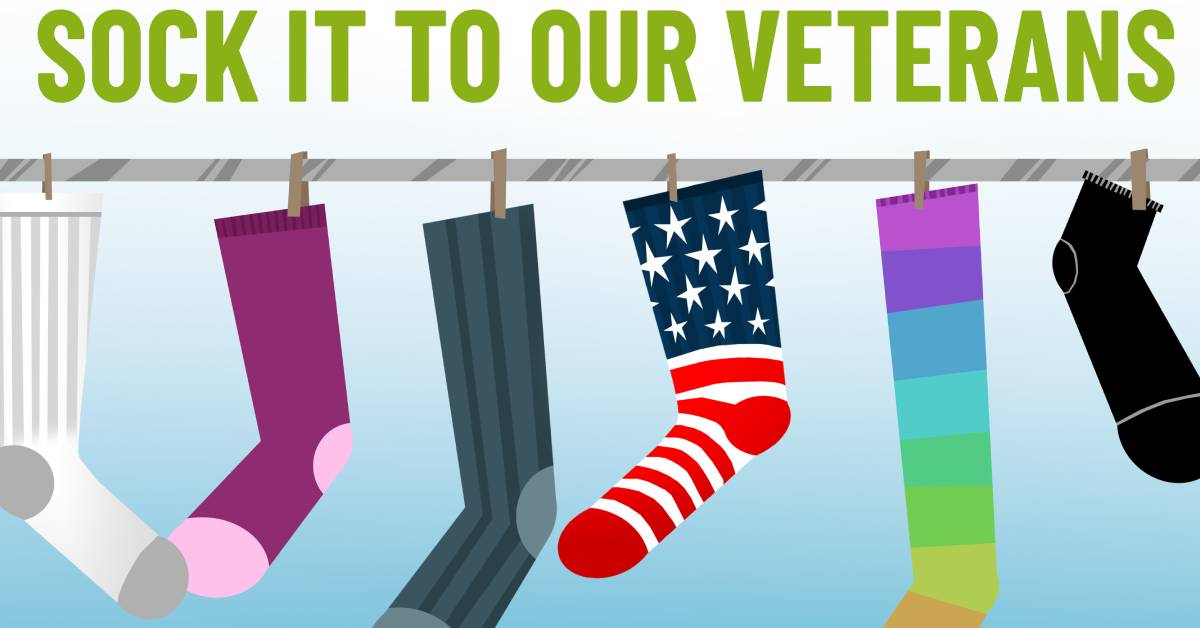 South Shore Foot & Ankle invites community to donate socks to veterans