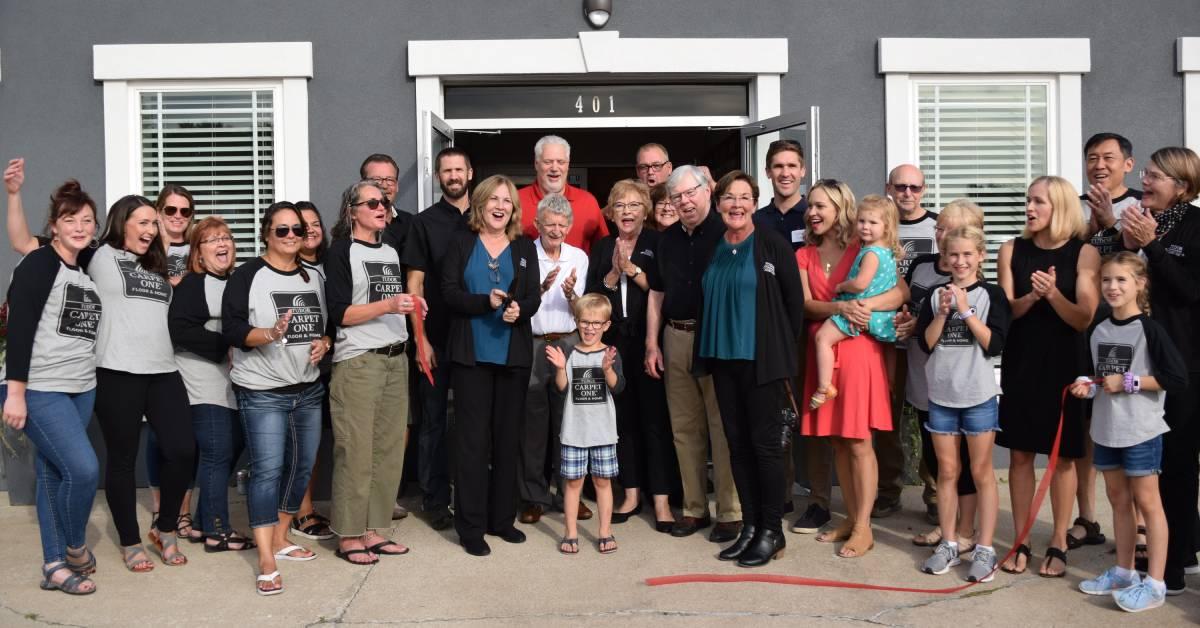 Tudor Floors & More Carpet One celebrates opening of new location