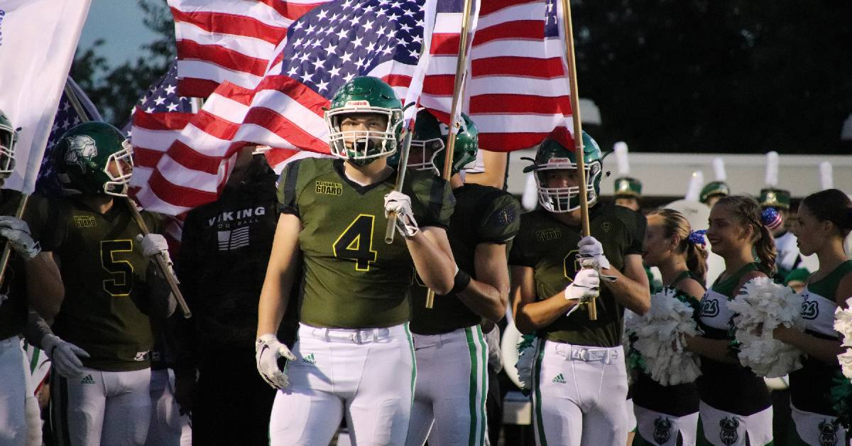 Let's Go Green for Patriot Night
