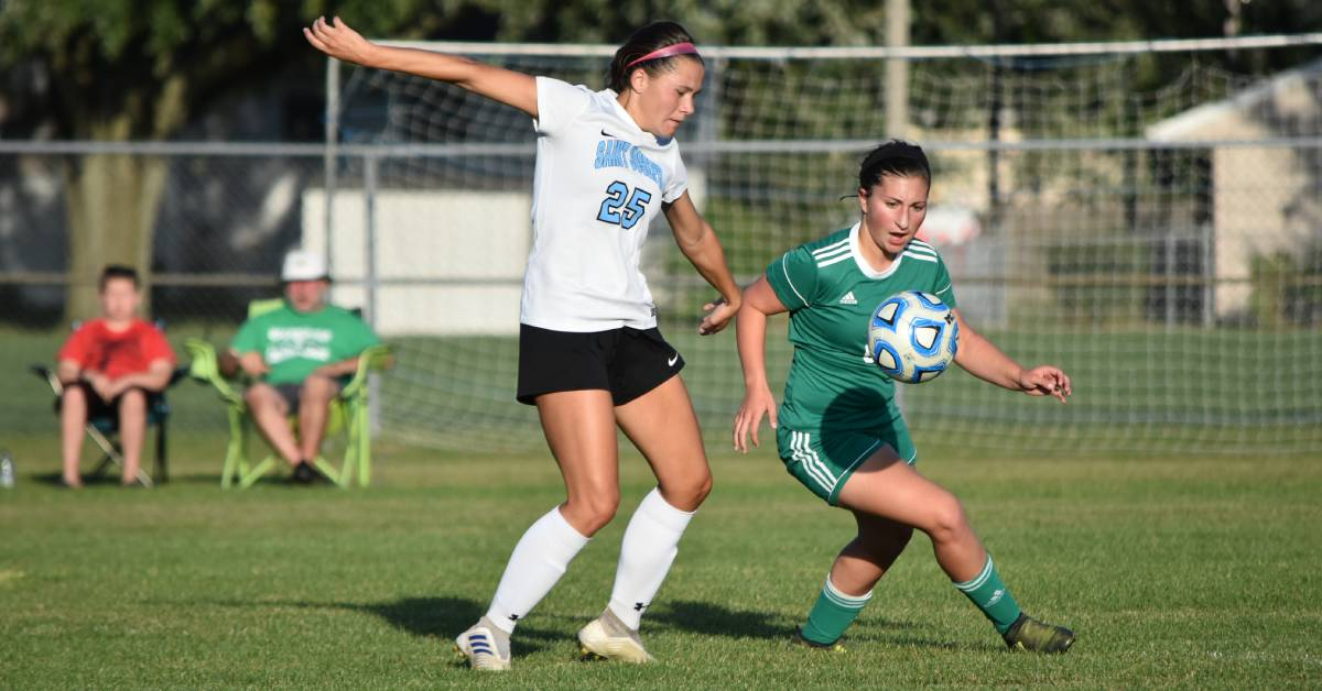 Valpo's girl's soccer played hard, but the win goes to St. Joseph