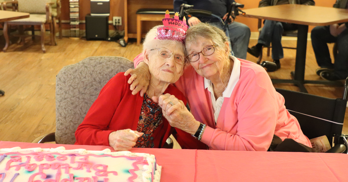 A spooky and amazing milestone celebrated at Life Care Center of the Willows