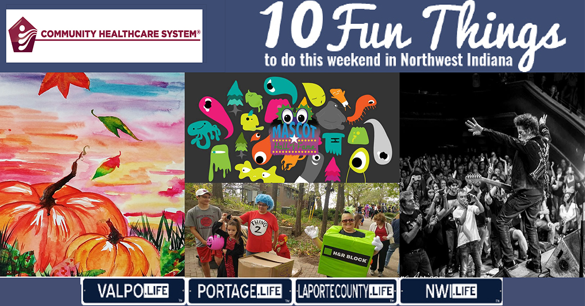 10 FUN THINGS TO DO IN NWI THIS WEEKEND OCTOBER 18-20, 2019