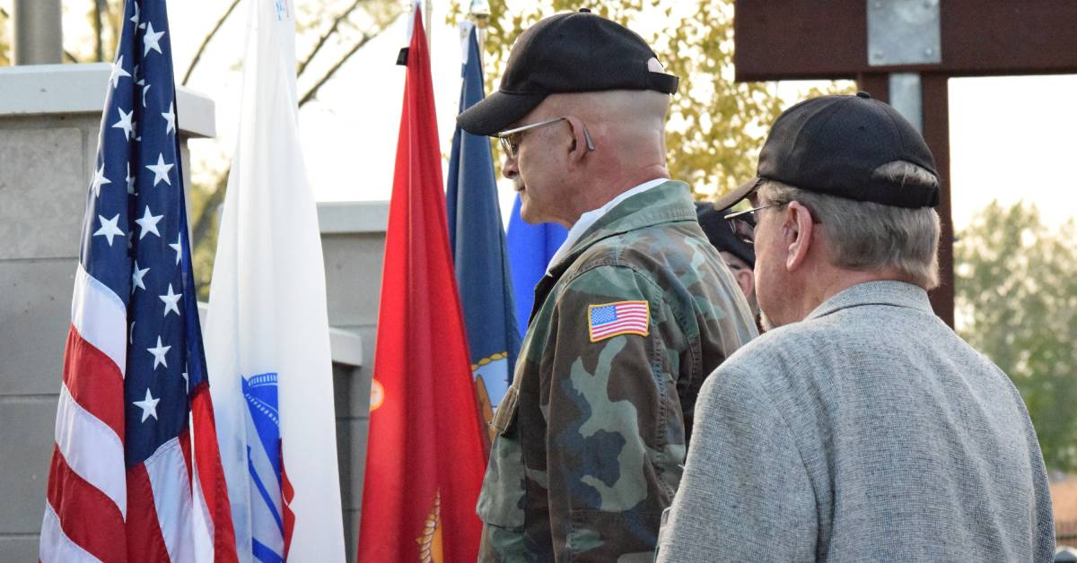 Mishawaka Center for Hospice Care celebrates veterans at annual tribute ceremony