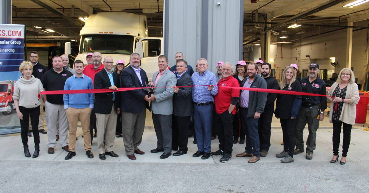 TLG Peterbilt and Chester Inc. cut the ribbon on huge expansion
