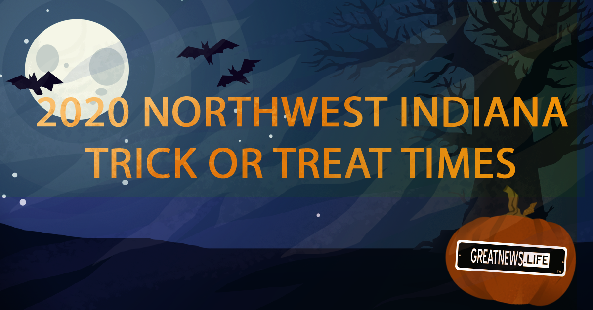 Trick-or-treat times for the Region