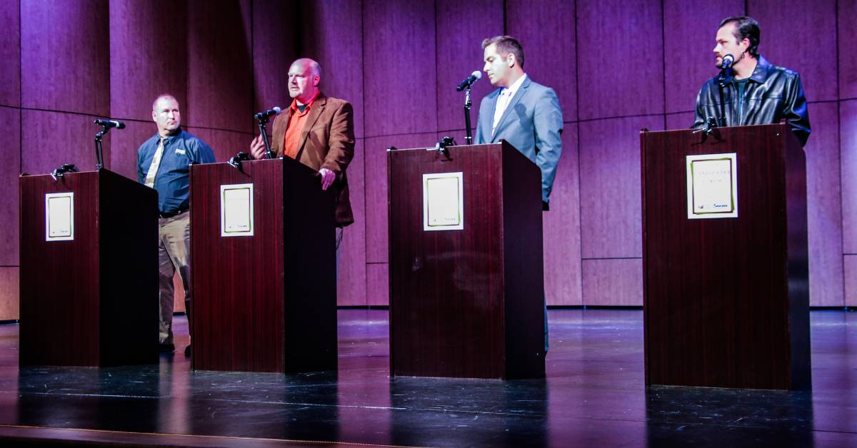 Love for La Porte takes center stage at 2019 Candidate Forum