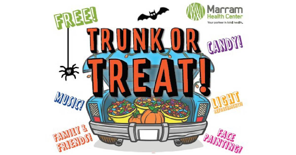 Trunk or Treat at Marram Health Center