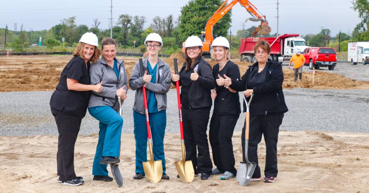 Vale Park Animal Hospital breaks ground on facility catered to pets and owners