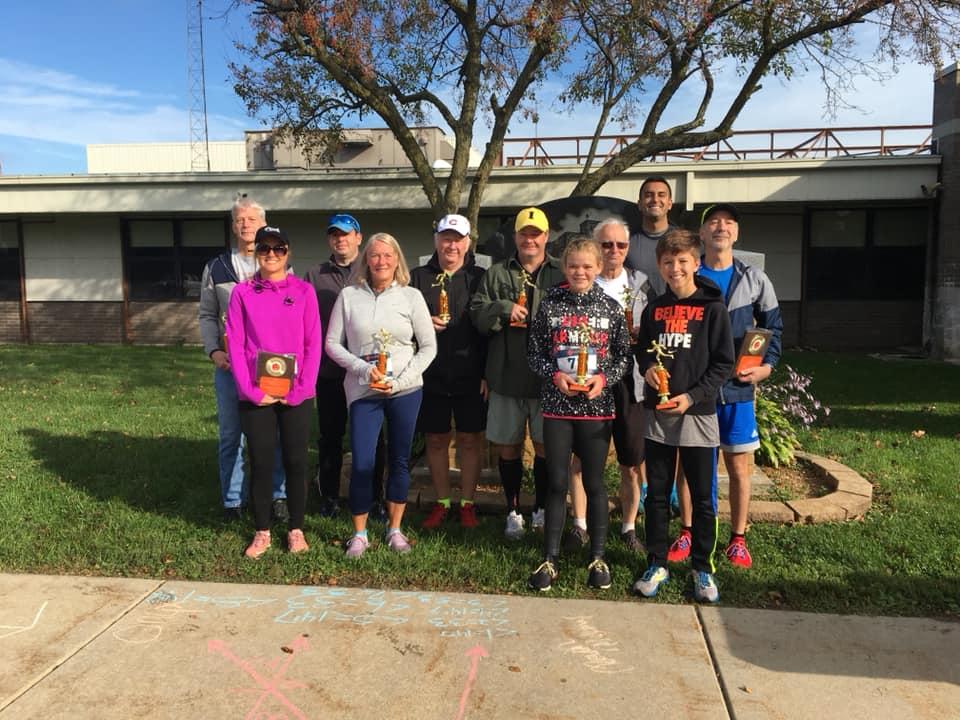 Westville Pumpkinfest 5K race winners