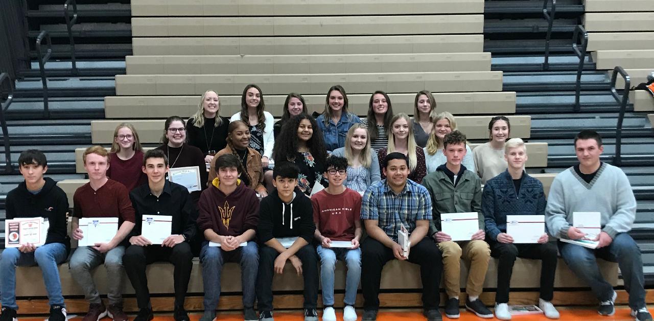 Westville schools hosts fall sports awards