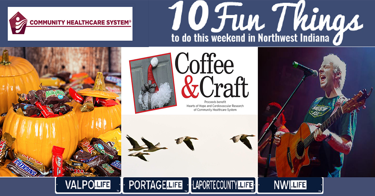 10 FUN THINGS TO DO IN NWI THIS WEEKEND November 1-3, 2019