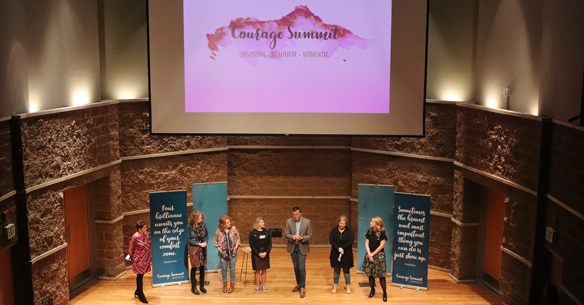 Leaders share stories of strength at Courage Summit