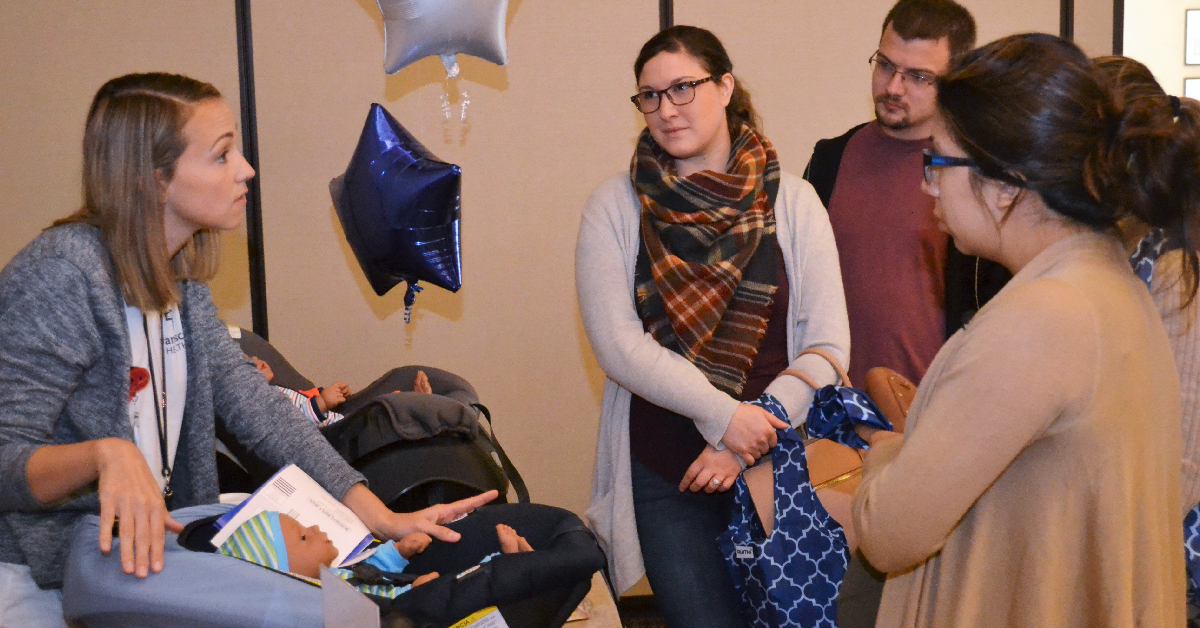 Baby shower highlights services for new parents in Michigan City