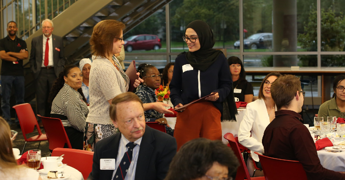 IU Northwest celebrates scholarship donors and their recipients at annual luncheon