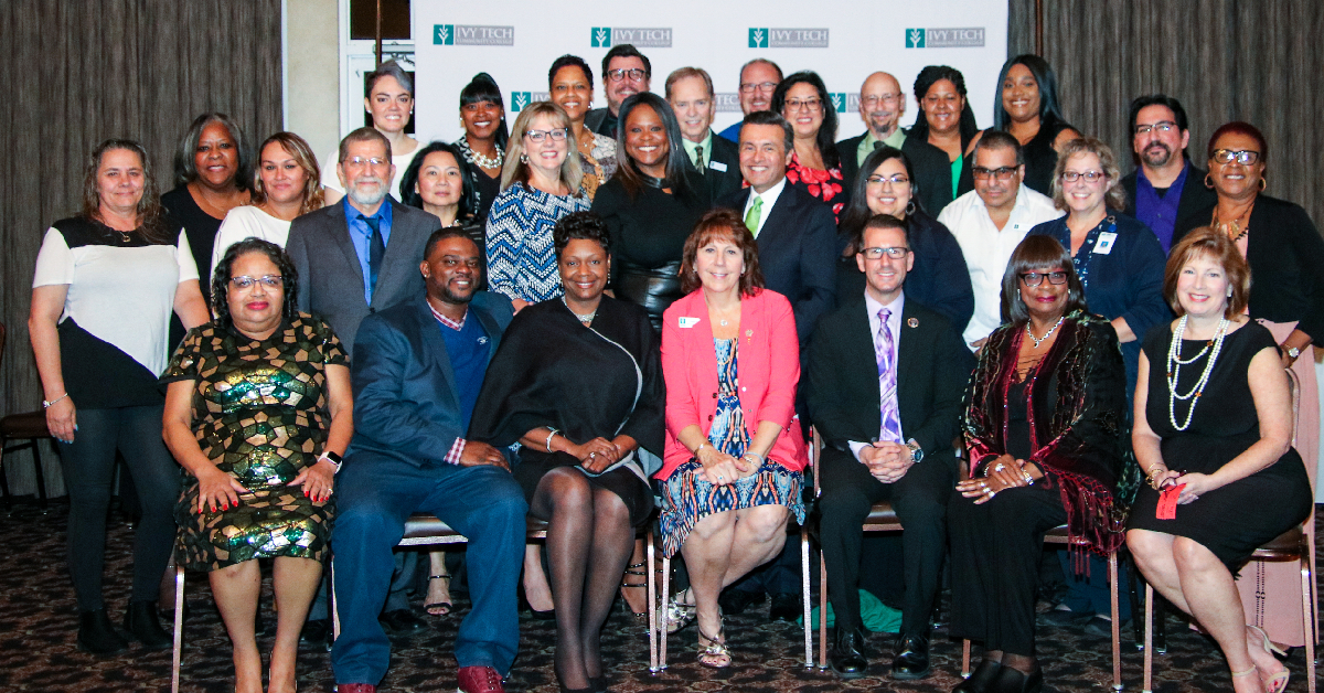 Ivy Tech Community College Chancellors of Northwest Indiana celebrate students' academic achievement
