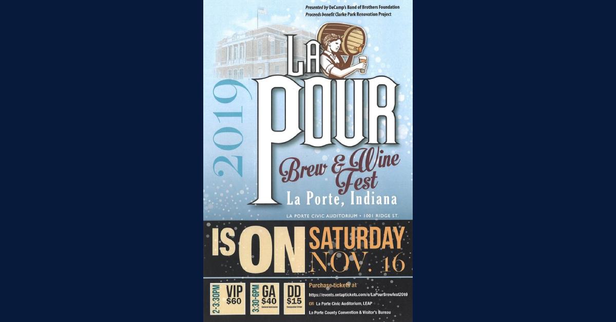 La Pour Brew & Wine Fest returns to Civic Auditorium on November 16