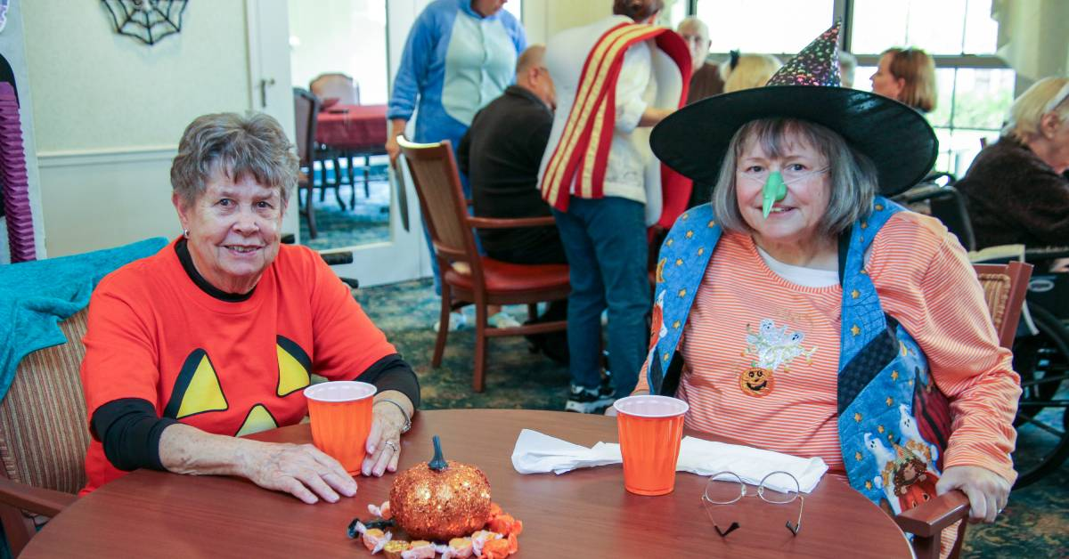 Frightful Fun for the residents of Rittenhouse Village at Portage