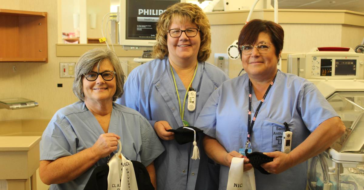 Franciscan Health Crown Point NICU Nurses start Graduation Program