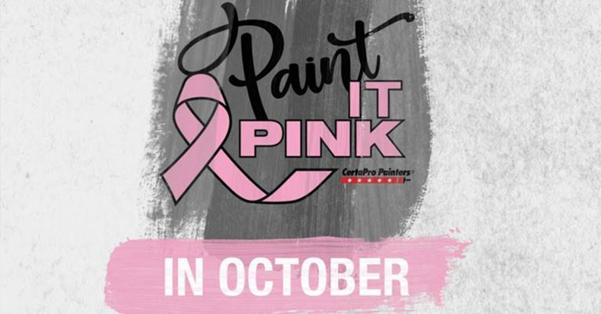 Paint it Pink in October