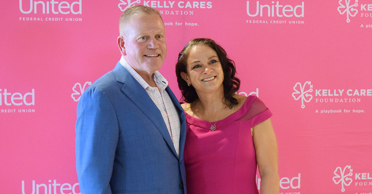 Kelly Cares Foundation celebrates the Power of Pink with honoring their Playmaker of the Year