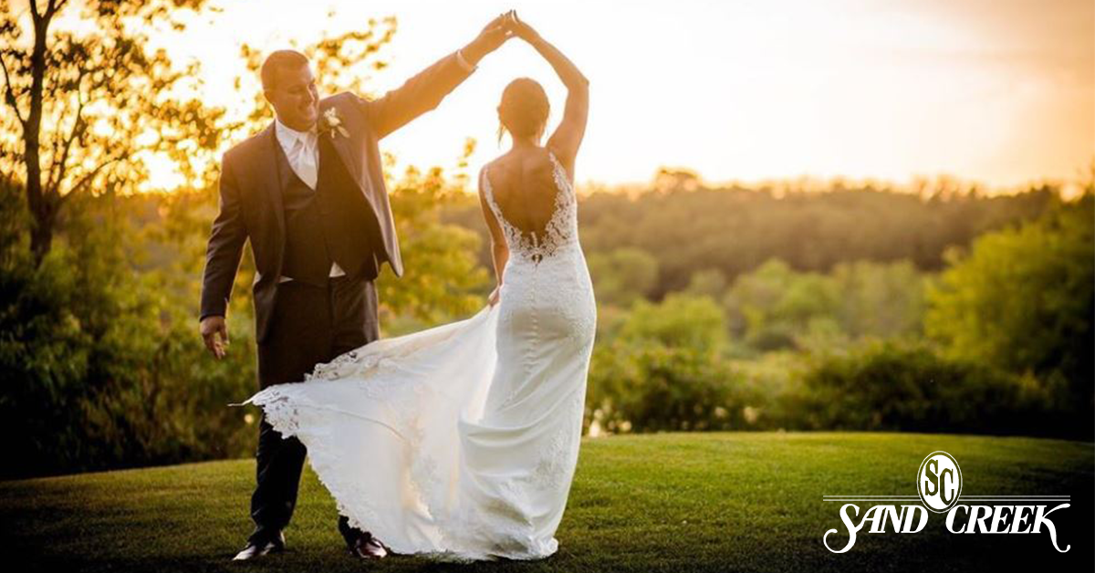 Weddings at Sand Creek Country Club emit elegance, personality, unique possibilities