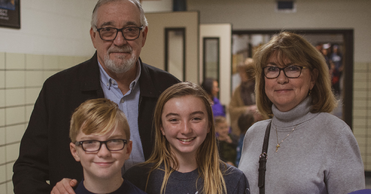 St. Mary's Catholic Community School hosts grandparents