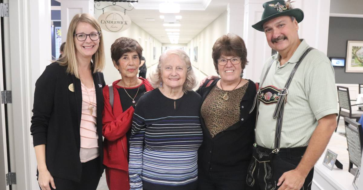 Resident's receive a taste of Germany with Oktoberfest at StoryPoint
