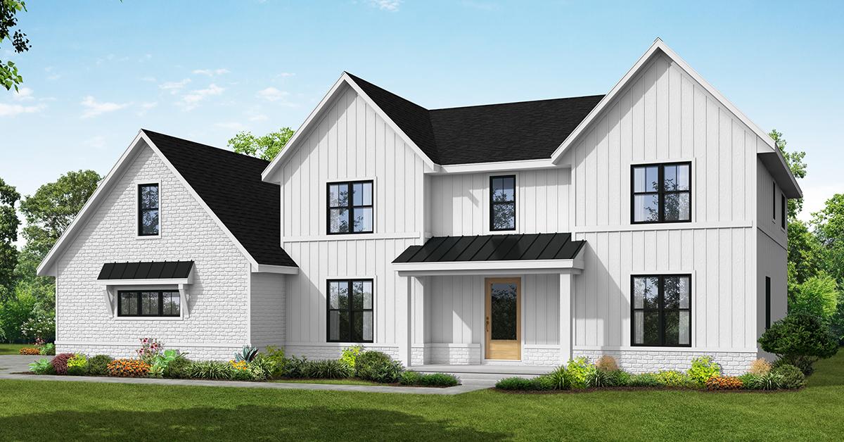Modern farmhouse theme headlines new Sublime Homes community