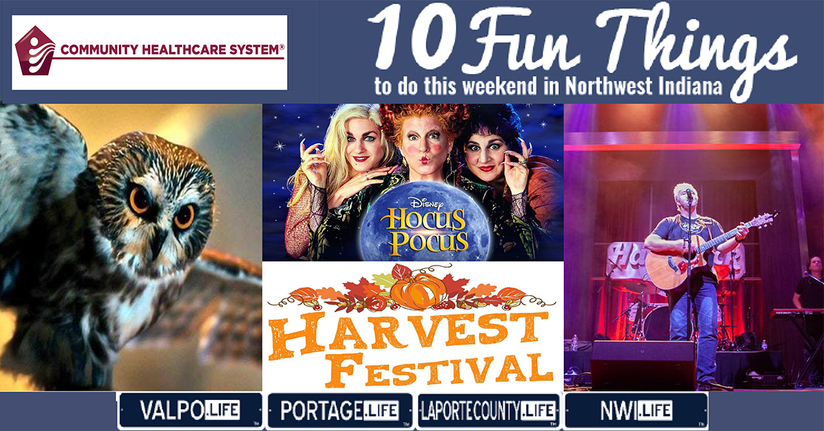 10 Fun Things to do in NWI this weekend October 4-6, 2019
