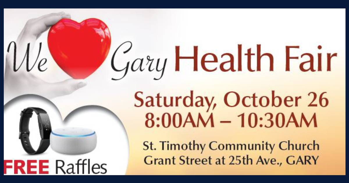 """We Love Gary""  Free Fall Community Health Fair"