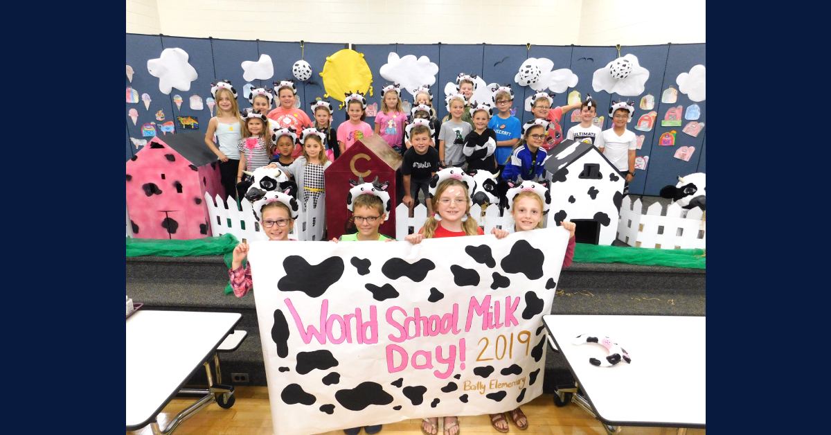 Bailly Elementary wins World Milk Day Contest