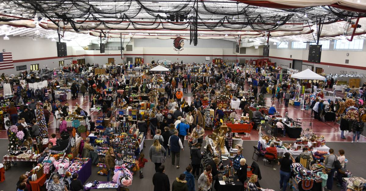 Hannah's Hope holds 10th Annual Craft and Vendor Fair at Portage High School