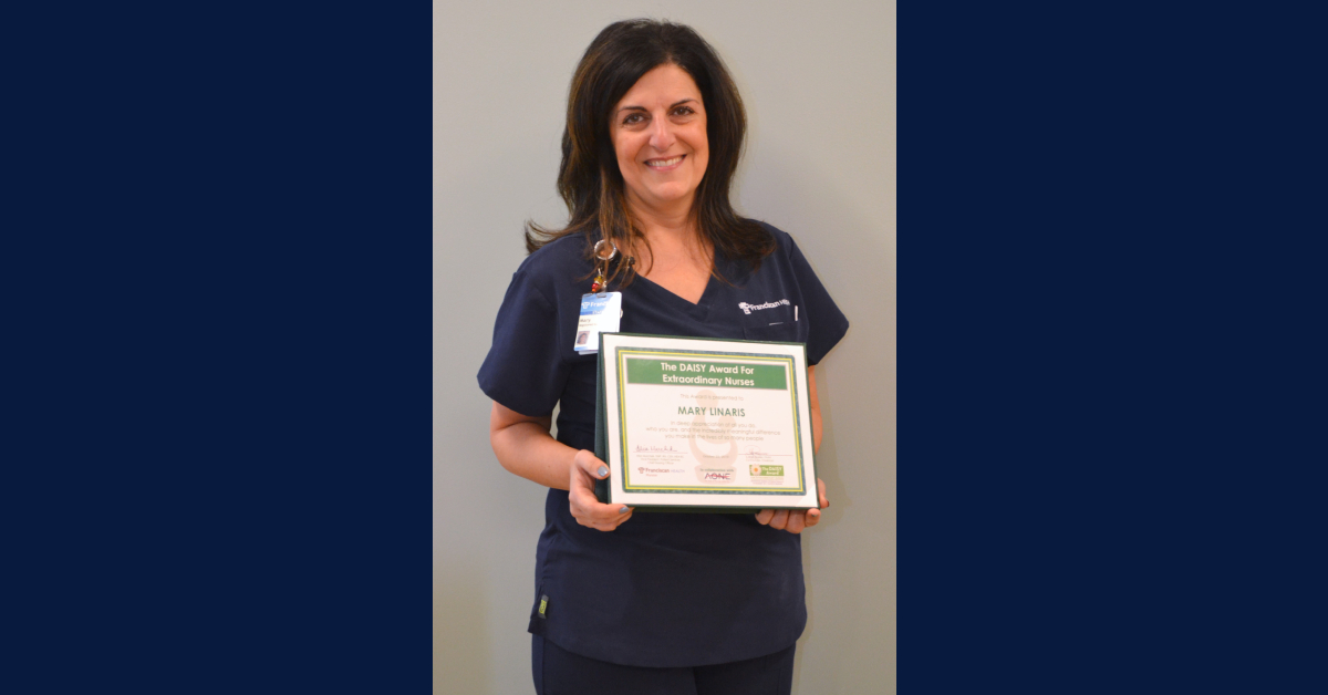 Franciscan Health Munster and Hammond recognize nurses with hospitals' first DAISY Awards