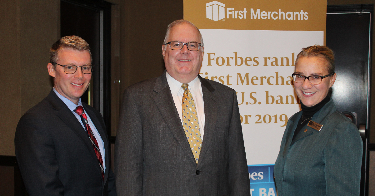 First Merchants' Economic Outlook Luncheon offers expert financial insight to community