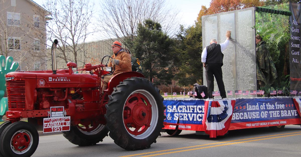 City of Hammond celebrates 6th annual parade commemorating veterans